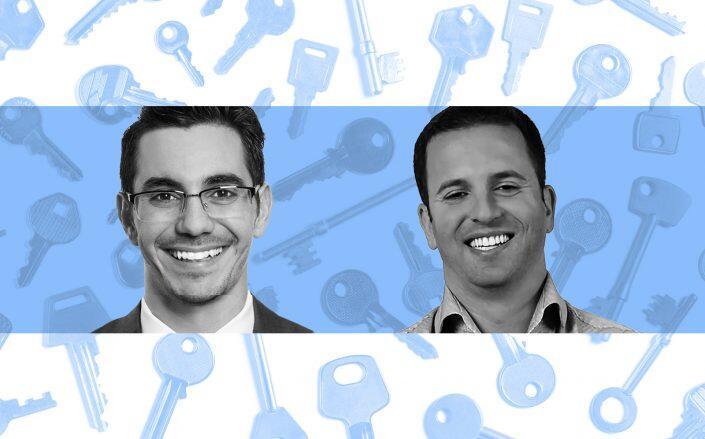 David Bitton, CMO and co-founder of DoorLoop and Ori Tamuz, CEO and co-founder of DoorLoop (Bitton, DoorLoop, Getty)