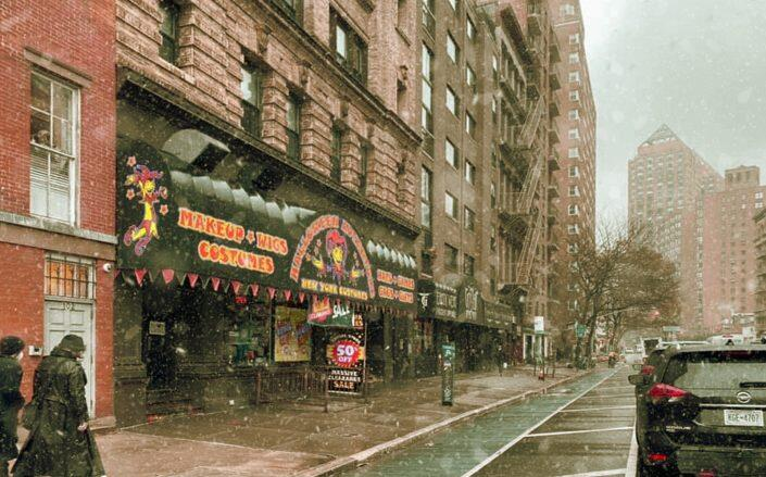 The Broadway location of Halloween Adventure (Facebook via New York Costumes / Halloween Adventure)