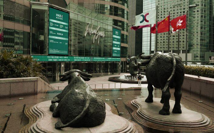 Hong Kong Stock Exchange (Getty)
