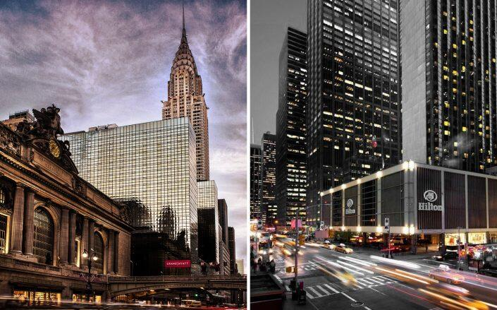 The Grand Hyatt on 42nd Street and the New York Hilton on Sixth Ave are both planning on reopening later this year (Hilton, Hyatt)