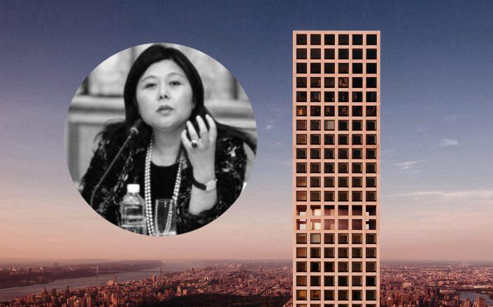 Whitney Duan and 432 Park Ave (432 Park)