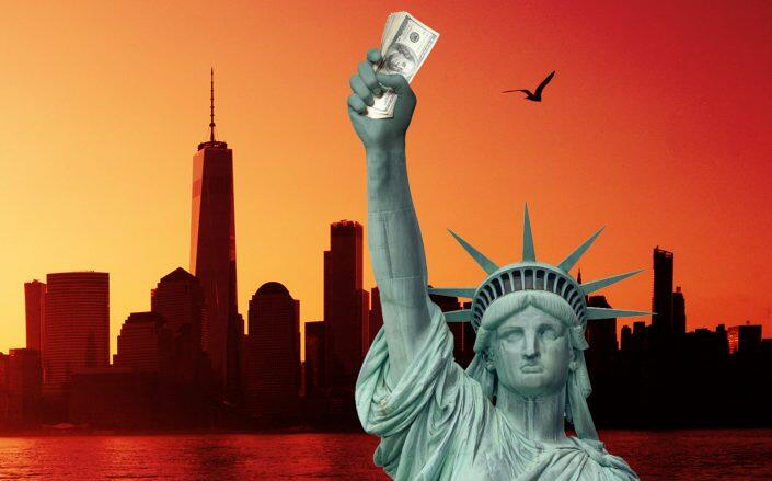 Universal Rental Assistance would generate $8.5 billion for New York (Getty, Photo Illustration by Alison Bushor for The Real Deal)