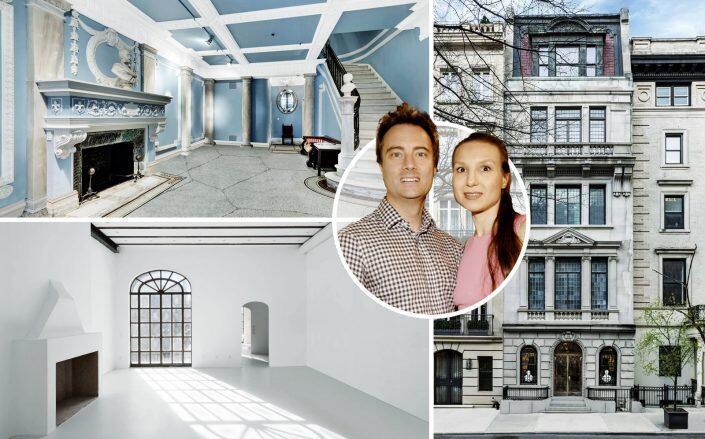 Claudio and Julia Guazzoni de Zanetti with the property (Corcoran, Getty)