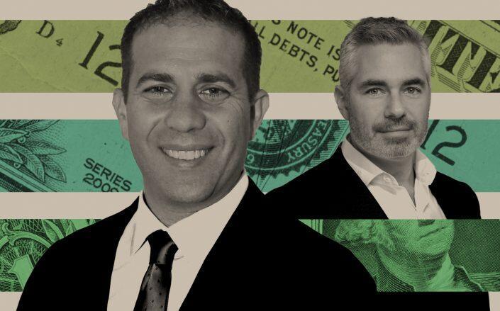 Valley National CEO Ira Robbins and Bank Leumi USA CEO Avner Mendelson (Getty, Valley National, Bank Leumi)