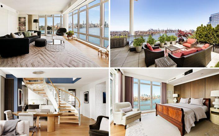 The $8.31 million Northside Piers unit (Photos by Allyson Lubow)