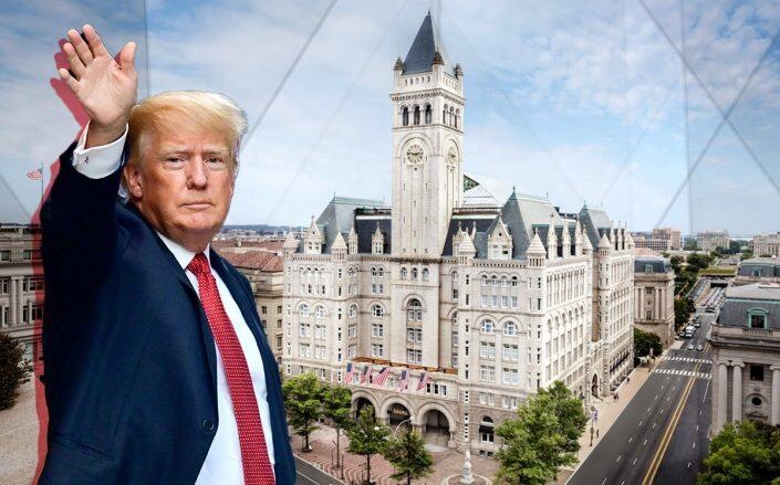 Trump's DC hotel lost $70M during presidency