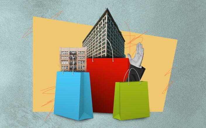 Retail availabilities decreased, but leasing increased in the third quarter (iStock, Wikimedia, LoopNet)