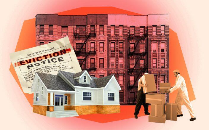Eviction filings across the country in September were reportedly about half of the month's pre-pandemic average. (iStock)
