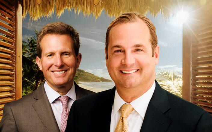 Wyndham CEO Geoff Ballotti and Marriott CEO Anthony Capuano (Getty, Wyndham, Marriott)