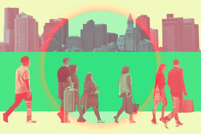 Slightly more than 1/3 of employees in 10 major U.S. cities were reportedly back in the office last week. (iStock)