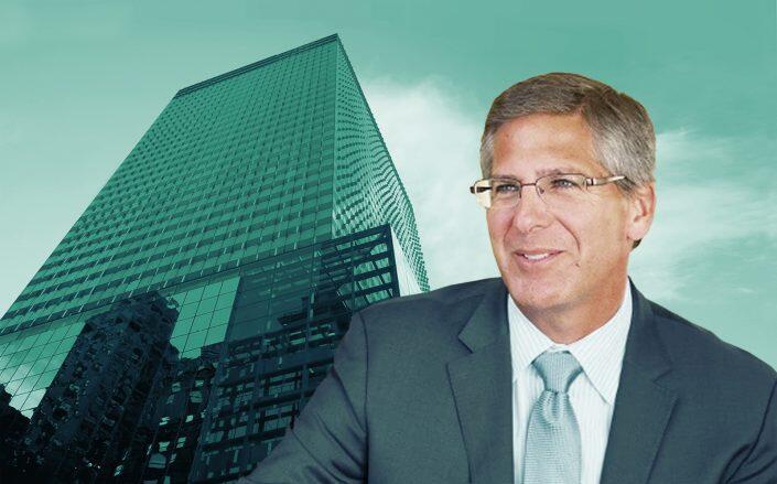 PwC Chairman Bob Moritz and 300 Madison Avenue (PwC, Brookfield Properties)