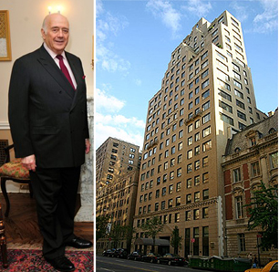 Billionaire purchases second fifth ave condo for 1040 5th avenue 15th floor