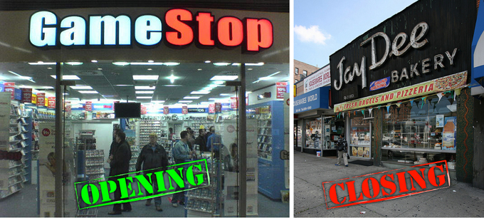 Openings and closings gamestop opens jay dee bakery closes sciox Choice Image