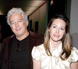 Developer Aby Rosen, left, married Serena Boardman's younger sister, Samantha, right, in 2005.