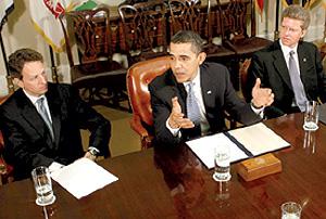 Donovan, Obama and Geithner