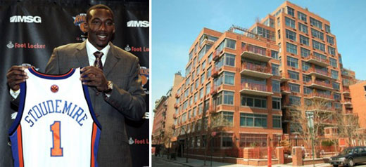 Knicks Amare Stoudemire Nabs Jane Street Penthouse