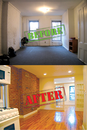 423 East 81st Street An Apartment At Before And After A 45 000 Renovation