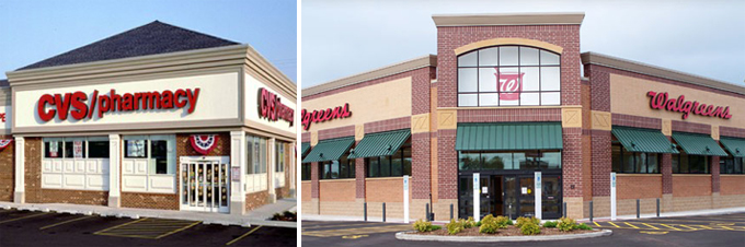 walgreens and cvs are safest tenants for retail investors