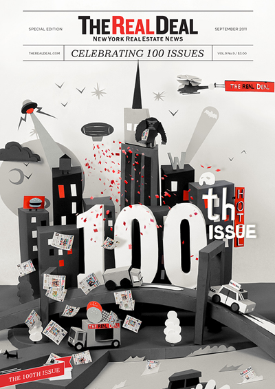 TRD 100th issue cover