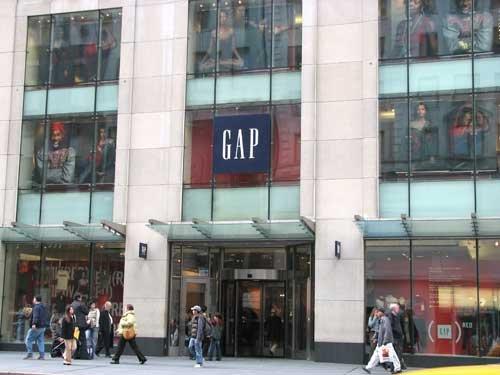 Gap To Close A Quarter Of Nyc Stores U S Construction