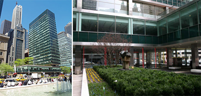From Left: Lever House And Its ...